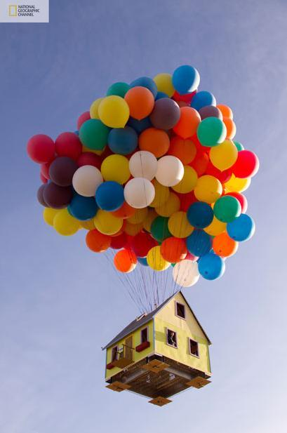 floating house10 Disney/Pixar's 'Up' created in real life