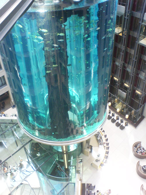 aqua dorm Largest Aquarium Elevator In The World