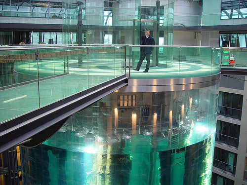 berlin aqua elevator Largest Aquarium Elevator In The World