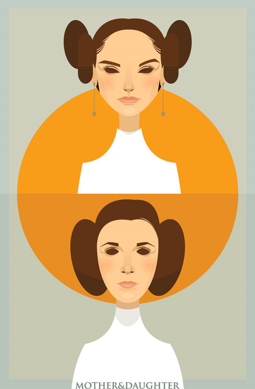 mother and daughter illustration Chows Incredible But Simple Illustrations
