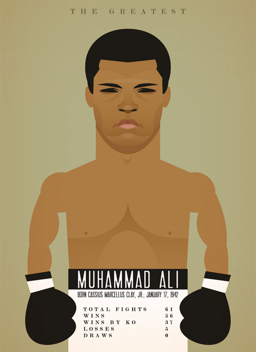 muhammad ali Chows Incredible But Simple Illustrations