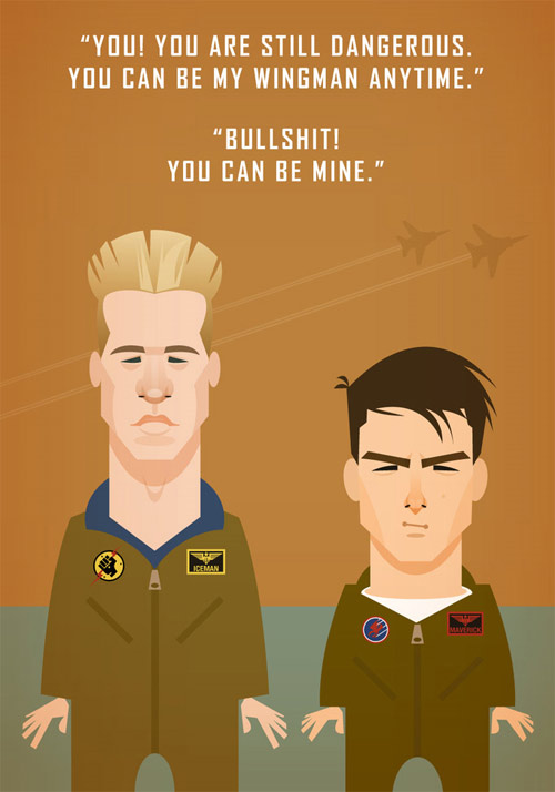 top gun illustration Chows Incredible But Simple Illustrations