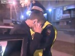 drunk russian driver 150x112 Drunk Russian driver makes phone call with pack of cigarettes   video