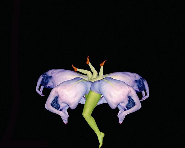 flower10 Human Body Arts