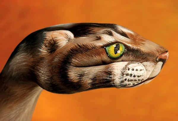 body art05 600x408 Amazing Body Arts by Guido Daniele