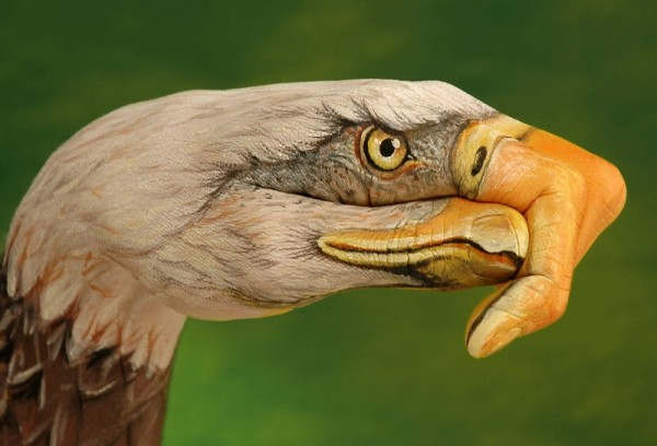 body art10 600x408 Amazing Body Arts by Guido Daniele