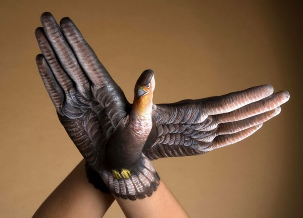 body art12 600x432 Amazing Body Arts by Guido Daniele