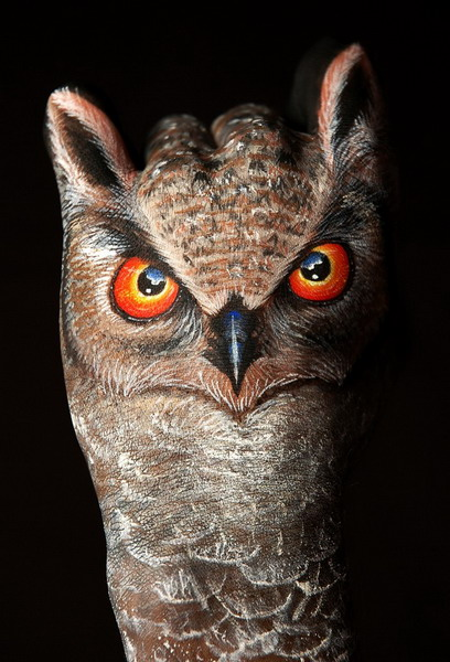 body art16 Amazing Body Arts by Guido Daniele