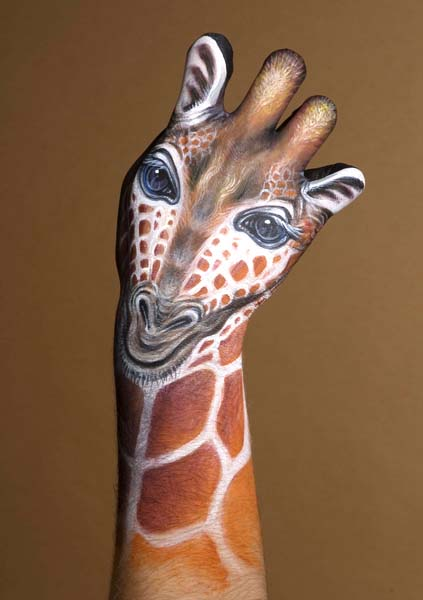 body art17 Amazing Body Arts by Guido Daniele