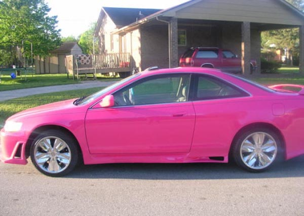 Pink Cars Picture Collection