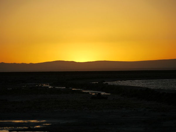 Sunset - Atacama Desert, northern Chile