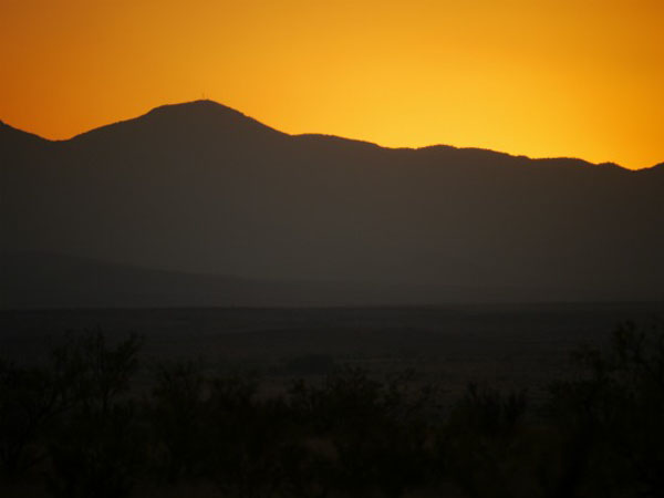 Sunset - Western Texas, near Big Bend National Park