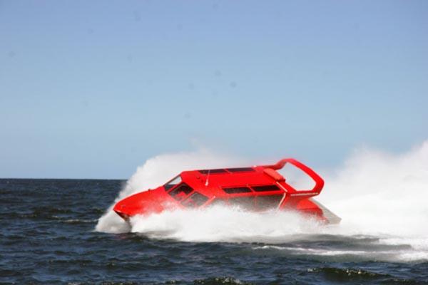 Jet Boat Ride, St Kilda, Melbourne