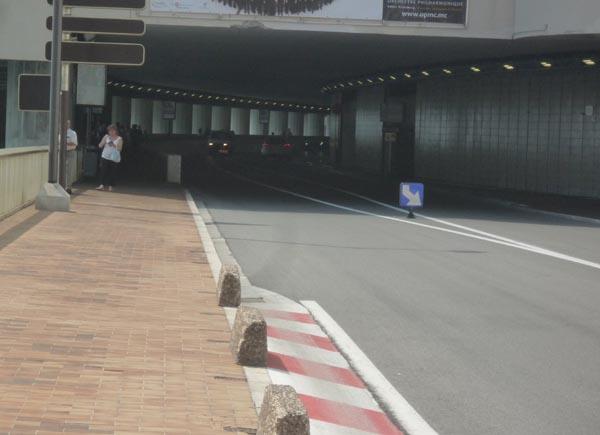 Monaco, F1 Tunnel