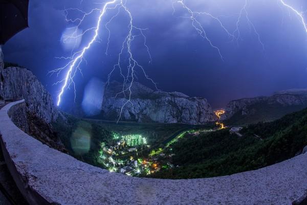Beautiful photo of lightning