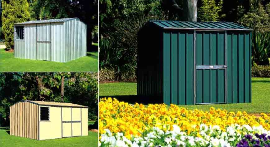 Outdoor Storage Sheds: A must have