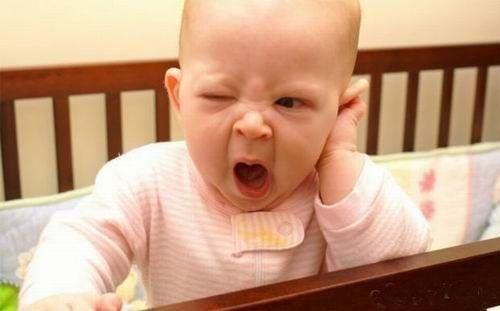 Funny babies facial expressions
