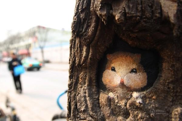 Arts in tree holes