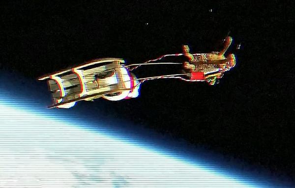 Santa Claus in Space