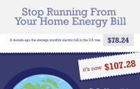 Stop Running From Your Home Energy Bill [Infographic]