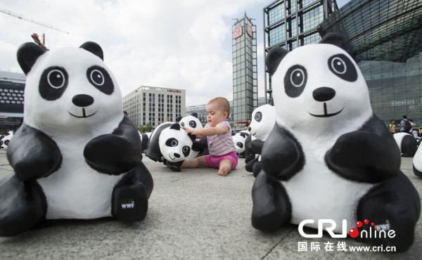 Open-air Exhibition Pandas World Tour - Taipei, China