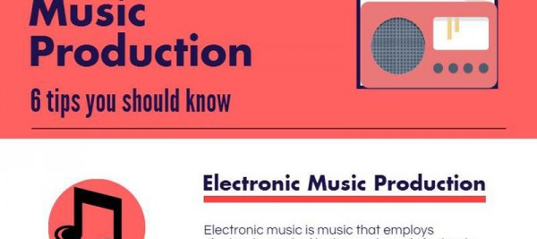 6 Electronic music production tips you should know [Infographic]