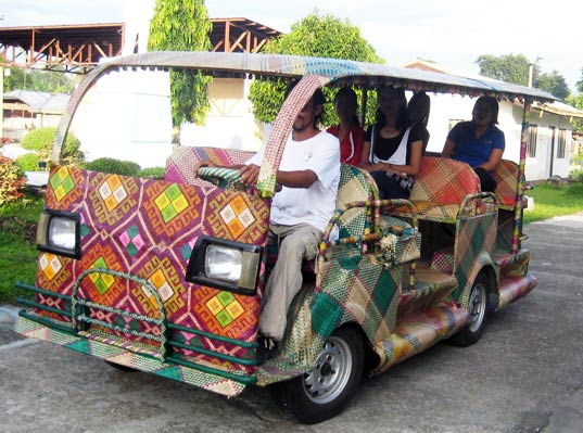Amazing Bamboo Taxis