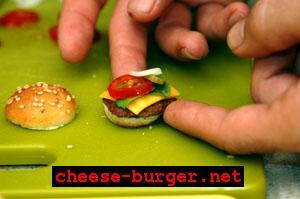 World's Smallest Burger