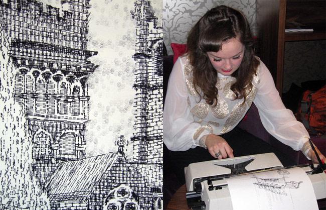 Using Typewriters To Create Art