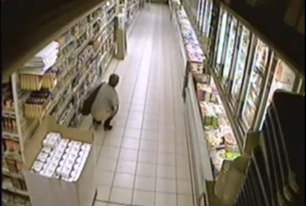 A Dirty Woman Poops Inside A Grocery Store - Video