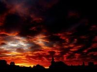 Stuning sunset photo