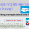 Top Salesforce data loaders and tips for using it [Infographic]